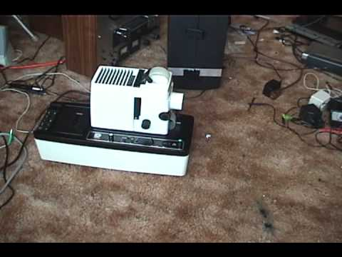 DUKANE Micromatic II filmstrip projector