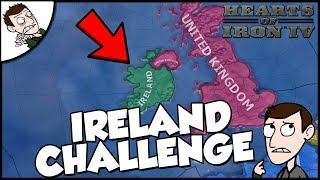 Hearts of Iron 4 HOI4 Democratic Ireland Takes UK Challenge