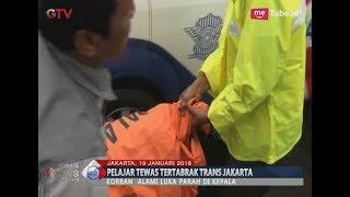 Seorang Pelajar Tewas Mengenaskan Usai Tertabrak Bus Transjakarta - BIM 19/01