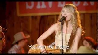 [HD] Taylor Swift - Crazier (Hannah Montana The Movie) [Lyrics On Screen]