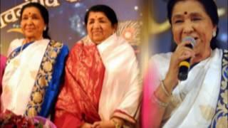 VERSATILE SINGER ASHA BHOSLE'S 83RD  BIRTHDAY