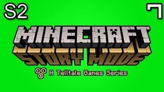 Minecraft Story Mode Let's Play: S2E2 Part 3 - ADMIN SHOWDOWN