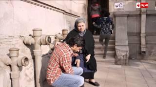 """مشهد مؤثر جدا يبكى القلوب  للفنان """" عمرو عابد """" ووالدته ..... الحلقة 3 من مسلسل بين السرايات"""