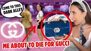 Buying FAKE GUCCI In DUBAI 🇦🇪 I Filmed Everything!! | Mar