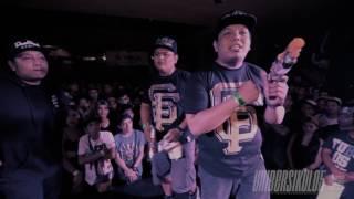 FlipTop - PriceTagg/Kris Delano vs Pistolero/Prince Rhyme @ DosPorDos 2017