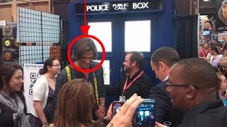 Jared Padalecki Is Too Big To Fit In The TARDIS