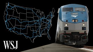 Inside Amtrak's Dying Long-Distance Trains | WSJ