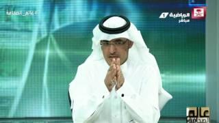 نايف الروقي - يوجه رسالة لإدارة النصر ويقول لحسين عبدالغني (اشتري لك نادي العب فيه) #عالم_الصحافة