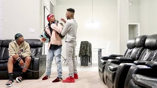 WEARING YOUR CLOTHES PRANK ON AR'MON AND TREY!!!