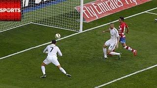 Ronaldo Scores 5 Goals, Hat Trick Under 8 Minutes vs. Granada