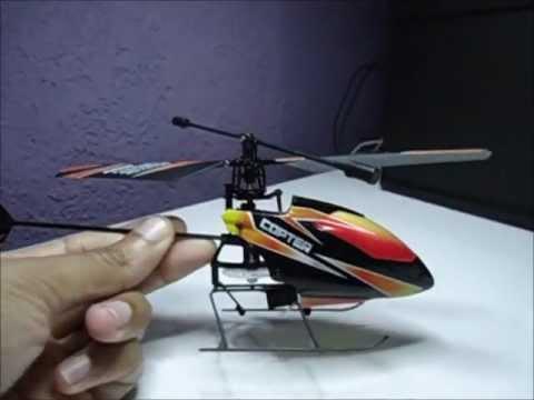 Demonstraçao WL Toys V911 2.4Ghz