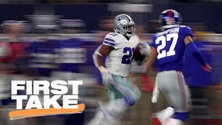 First Take reacts to Giants losing to Cowboys in Week 1 | First Take | ESPN