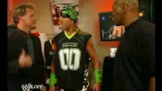 Shawn Michaels and Mike Tyson Plus Chris Jericho