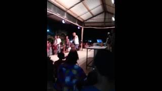 A Tanzanian Old Man Dancing Music