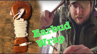 Scrap Wood Earbud Wrap