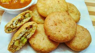 सूजी की खस्ता क्रिस्पी और स्वादिष्ट कचौड़ी झटपट कैसे बनाए  Suji Kachori Rava Kachori  Kachori Recipe