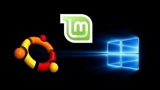 Triple Boot - Windows 10, Ubuntu, & Linux Mint