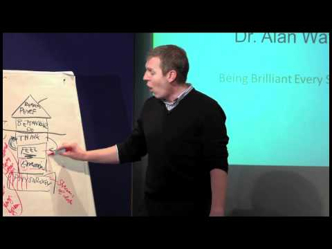 TEDxPortsmouth Dr. Alan Watkins Being Brilliant Every Single Day Part 1