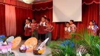 Prasekolah Arif SKBRU gadis dan bunga