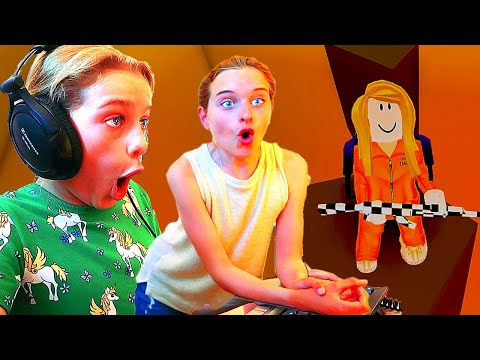 My SISTER COULDN T BELIEVE OUR PYRAMID HEIST In Roblox Gaming w The Norris Nuts