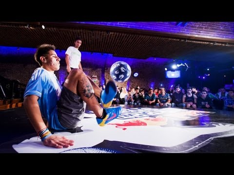Freestyle Football in Argentina - Red Bull Street Style 2013