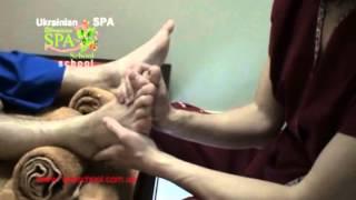 Тайский массаж стоп видео