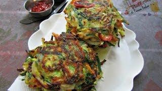 How to make vegetable pancake | Indian breakfast recipes | Indian veg recipes