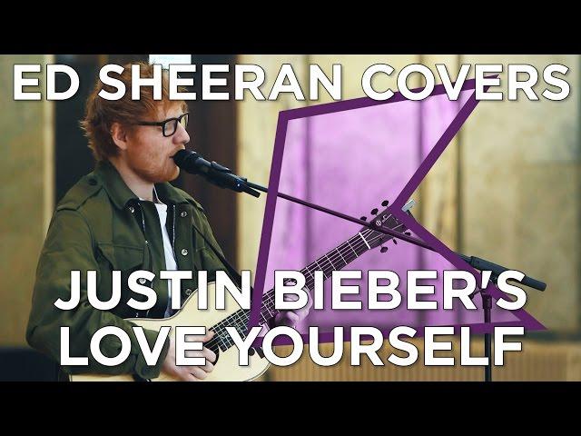 Ed Sheeran covers Justin Bieber's 'Love Yourself' (Live) | KISS Presents