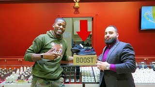 Surprised My Jeweler Sam With His First Pair Of Yeezy's