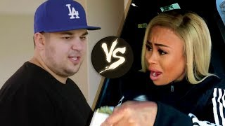 OMG! Rob Kardashian EXPOSES Blac Chyna with Naked Photos on Instagram!!!