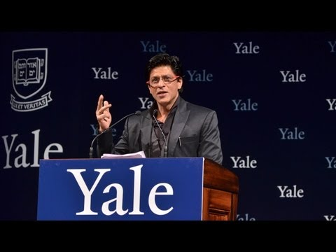 Shah Rukh Khan at Yale University as Chubb Fellow (official video)