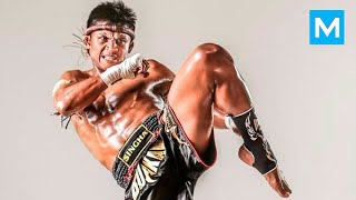 Buakaw Muay Thai Training (FULL) | Muscle Madness