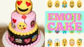 How To Make an Emoji Cake