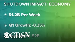 Government shutdown impacting U.S. economy