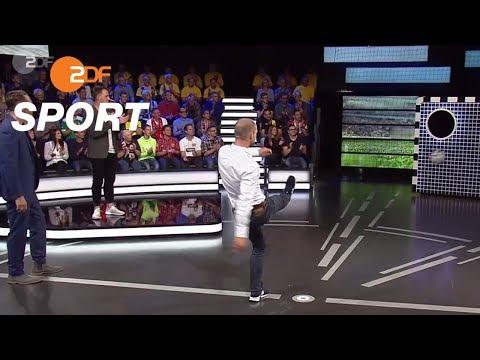Torwand: Martin Liebold vs. Patrick Lange | das aktuelle sportstudio - ZDF