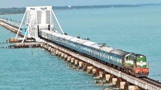 India's MOST DANGEROUS Rail BRIDGE PAMBAN Rameswaram.