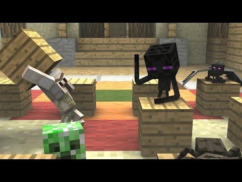 Minecraft BATALHA DE ROBÔS Escola Monstro 69 Monster School