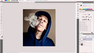 Photoshop Tutorial How to make color smoke