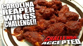 CAROLINA REAPER WINGS CHALLENGE │ WORLD'S HOTTEST PEPPER!!