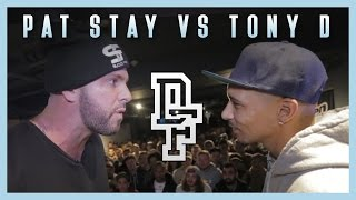 PAT STAY VS TONY D | Don't Flop X Crep Protect Rap Battle