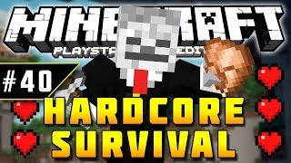 Minecraft PS3 - Hardcore Survival - Part 40 - THE ESCAPE! ( PS3 )