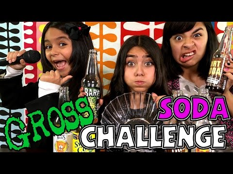 Gross Soda Challenge CHALLENGES GEM Sisters