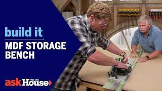 Build It   MDF Storage Bench