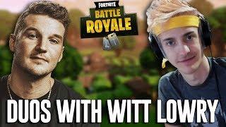 Duos with Witt Lowry! - Fortnite Battle Royale Gameplay - Ninja