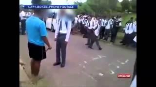 Learner injured in knife fight outside school