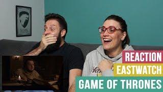 😱 REACTION/REAÇÃO - GAME OF THRONES S07E05 - EASTWATCH