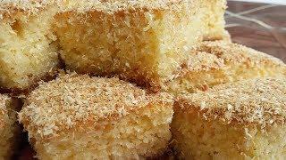 كيكة السميد والجوز الهند ( الكوك ) بطريقة سهلة وسريعة Semolina cake and nut India  ( الحلقة 116 )