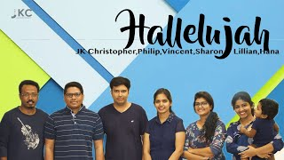 Hallelujah by JKChristopher,Philip,Vincent,Sharon Sisters Latest telugu Christian songs 2017 2018