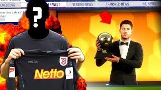 FIFA 18 : HAZARD gewinnt den BALLON DOR !! 😂😂 & NEUER TW ! 😱 Jahn Regensburg Karriere #9