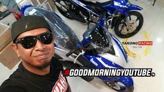 YAMAHA NVX 155 MALAYSIA VERSION 1st LOOK   TAKONG RACING    VLOG #80A